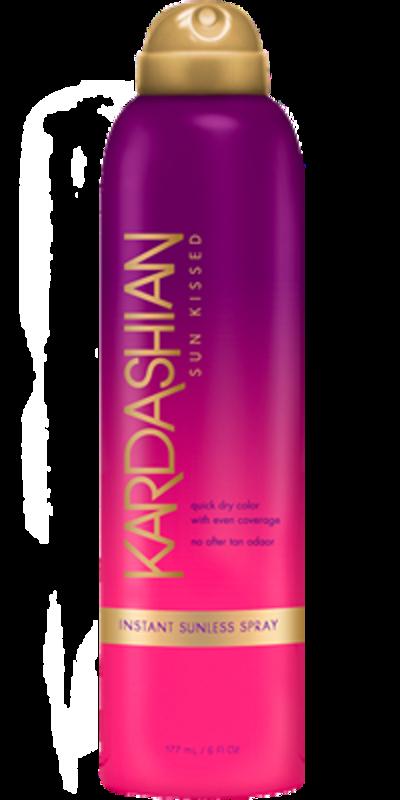 Kardashian Sun Kissed tūlītējas iedarbības paštonējošs aerosols 177ml