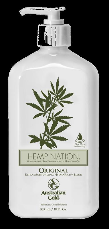 Hemp Nation® Original, intensīvi mitrinošs pēcsauļošanās un ikdienas ādas mitrinātājs